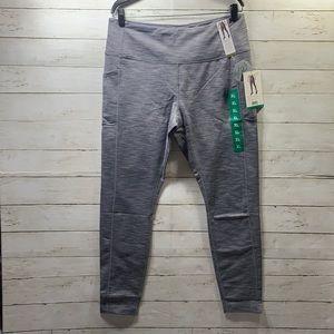 New Mondetta Gray high waisted leggings Sz. XL